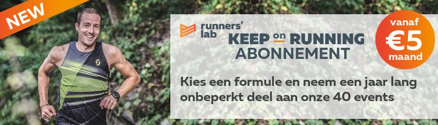 Keep on running abonnement